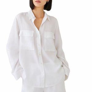 Babaton Utility Button Up Shirt